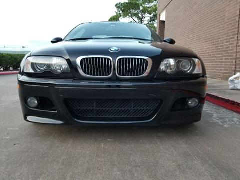 2004 BMW M3 for sale in Houston, TX