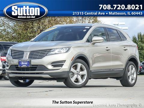 2015 Lincoln MKC for sale in Matteson IL