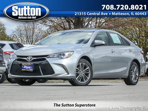 2015 Toyota Camry for sale in Matteson, IL