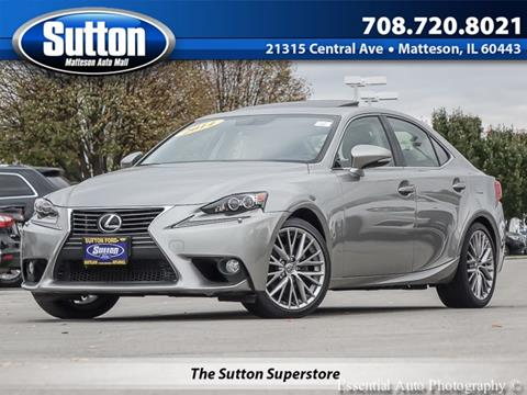 2014 Lexus IS 250 for sale in Matteson IL