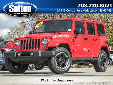 2015 Jeep Wrangler Unlimited for sale in Matteson, IL