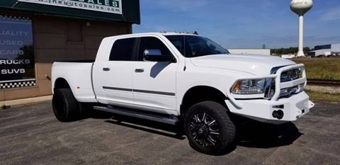 2015 RAM Ram Pickup 3500 for sale at J & S Auto Sales in Blissfield MI