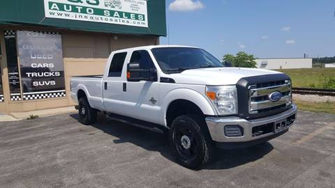 2011 Ford F-250 Super Duty for sale at J & S Auto Sales in Blissfield MI