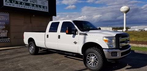 2014 Ford F-250 Super Duty for sale at J & S Auto Sales in Blissfield MI