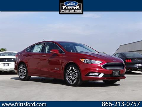 2017 Ford Fusion Hybrid for sale in Riverside, CA