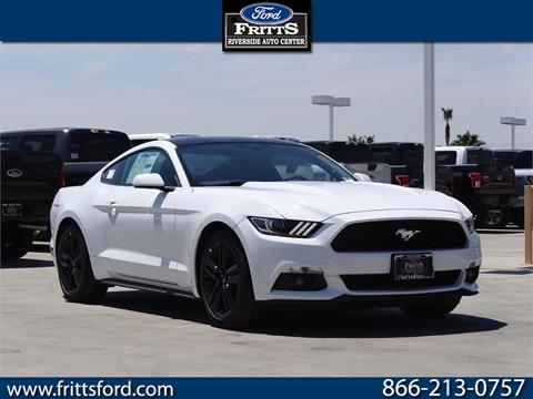 2017 Ford Mustang for sale in Riverside, CA