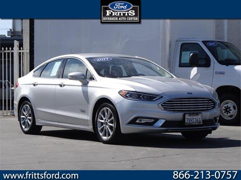 2017 Ford Fusion Energi for sale in Riverside, CA