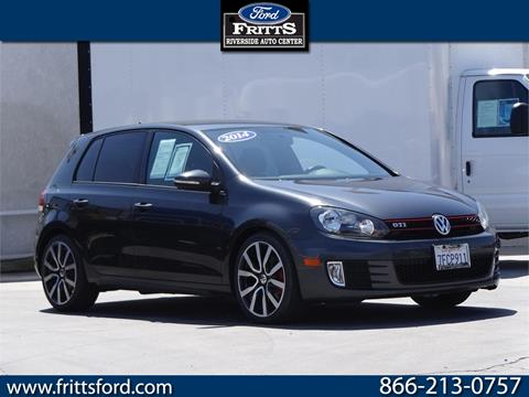2014 Volkswagen GTI for sale in Riverside, CA