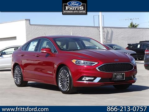 2018 Ford Fusion Hybrid for sale in Riverside, CA