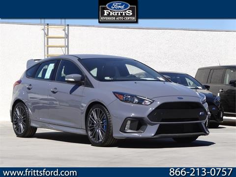 2017 Ford Focus for sale in Riverside, CA