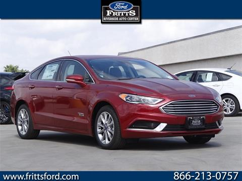 2018 Ford Fusion Energi for sale in Riverside, CA