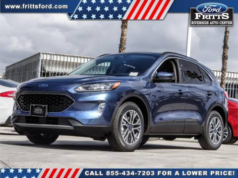 2020 Ford Escape SEL for sale at FRITTS FORD in Riverside CA