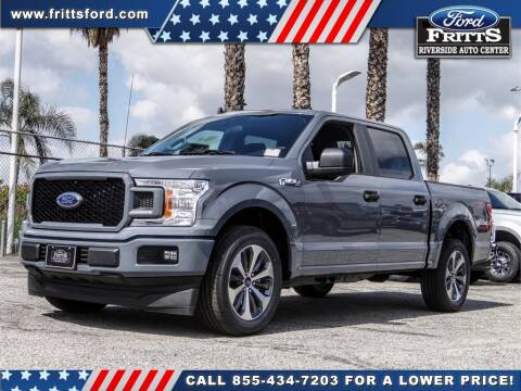 2020 Ford F-150 for sale at FRITTS FORD in Riverside CA
