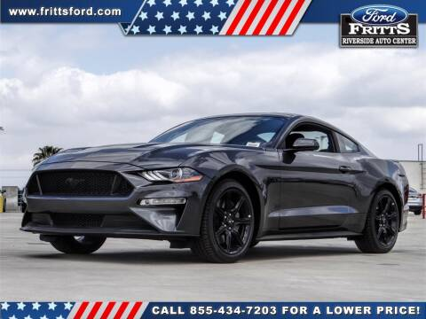 2020 Ford Mustang for sale at FRITTS FORD in Riverside CA