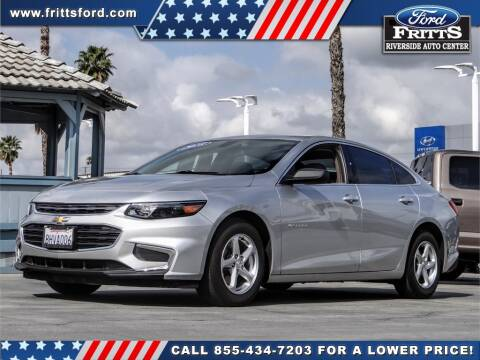 2018 Chevrolet Malibu LS for sale at FRITTS FORD in Riverside CA