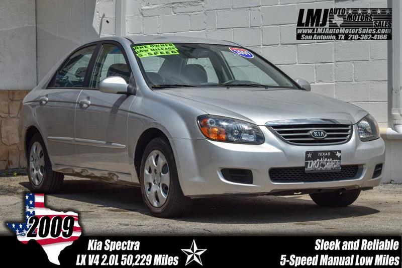 2009 Kia Spectra For Sale At LMJ AUTO MOTORS SALES In San Antonio TX