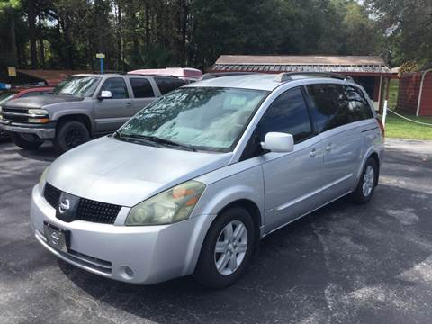 2005 Nissan Quest for sale in Dunnellon, FL