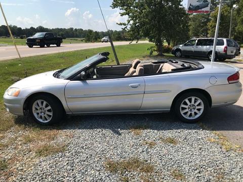 2003 Chrysler Sebring for sale in Garner, NC