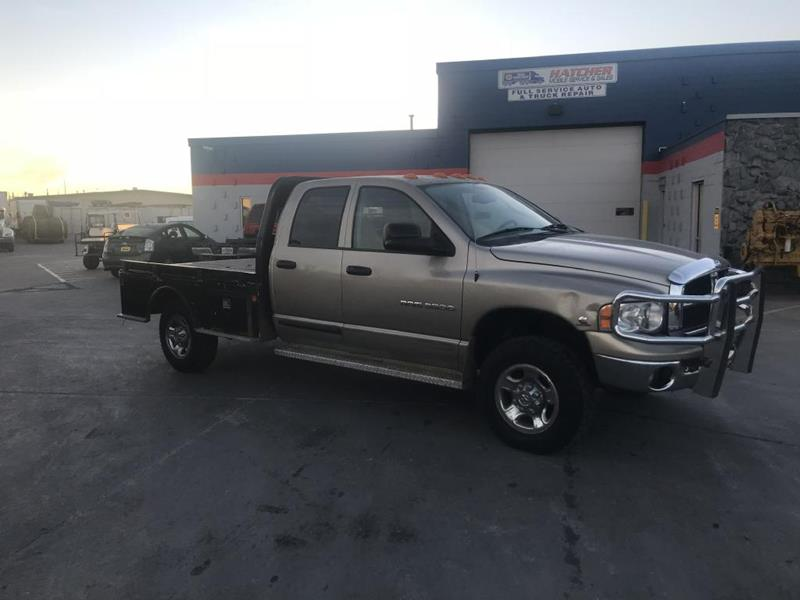 2005 Dodge Ram Pickup 2500 for sale at HATCHER MOBILE SERVICES & SALES in Omaha NE