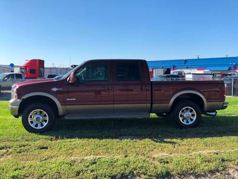 2006 Ford F-250 Super Duty for sale at HATCHER MOBILE SERVICES & SALES in Omaha NE