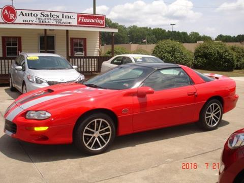 2002 Chevrolet Camaro for sale in Elberton GA