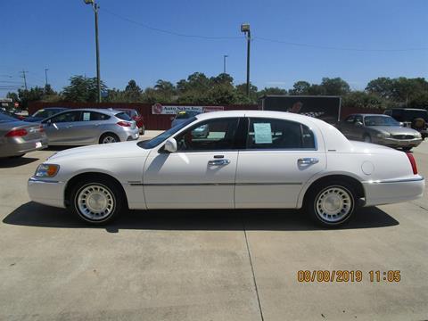 2002 Lincoln Town Car for sale in Elberton, GA