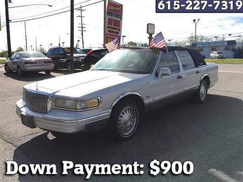 1996 Lincoln Town Car for sale in Madison TN