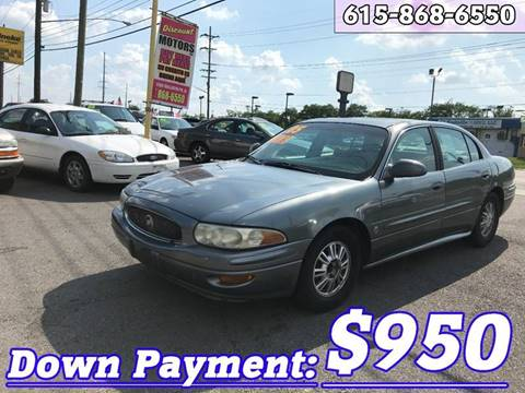 Buick lesabre for sale in tennessee for Discount motors in madison