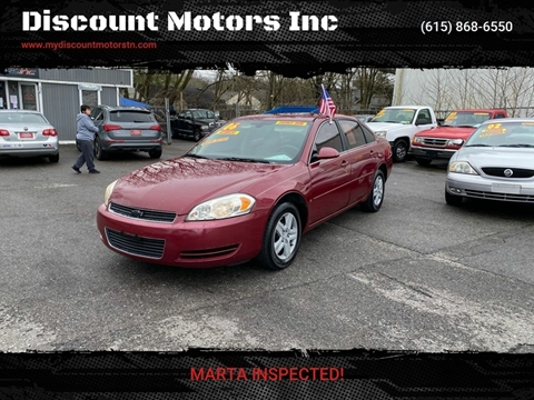 2006 Chevrolet Impala LS for sale at Discount Motors Inc in Madison TN