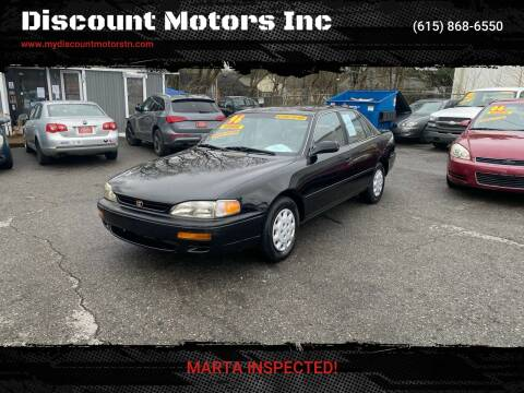 1996 Toyota Camry DX for sale at Discount Motors Inc in Madison TN