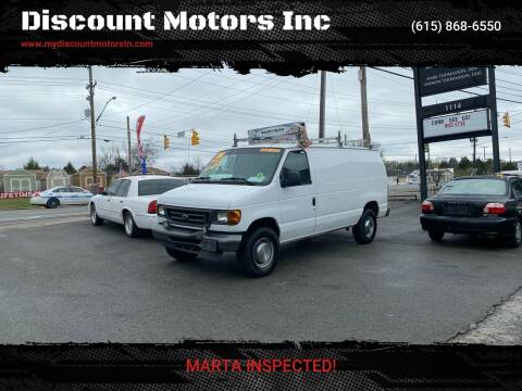 2006 Ford E-Series Cargo E-350 SD for sale at Discount Motors Inc in Madison TN