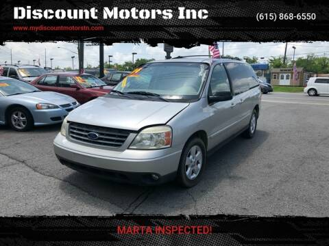 2004 Ford Freestar SES for sale at Discount Motors Inc in Madison TN