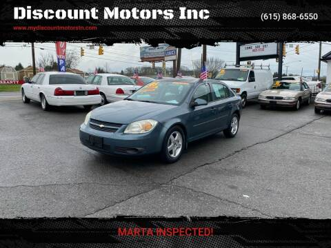2005 Chevrolet Cobalt LS for sale at Discount Motors Inc in Madison TN