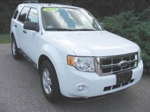 2012 Ford Escape for sale in North Kingstown RI