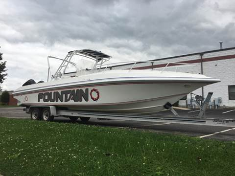 2001 Fountain 31 center console 31 center console for sale in North Kingstown, RI