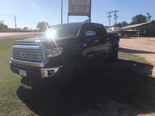 2014 Toyota Tundra for sale at ALL STAR VEHICLE SALES LLC in Tishomingo OK