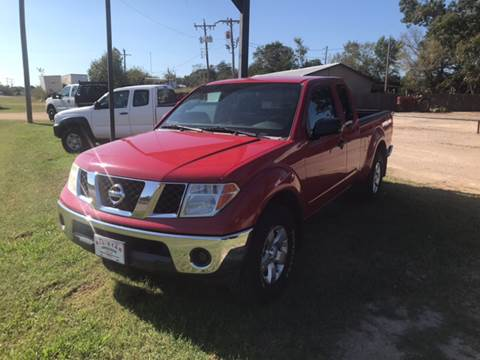 2008 Nissan Frontier for sale at ALL STAR VEHICLE SALES LLC in Tishomingo OK