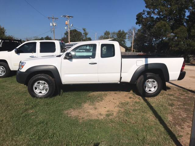 2015 Toyota Tacoma for sale at ALL STAR VEHICLE SALES LLC in Tishomingo OK