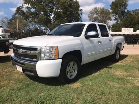 2009 Chevrolet Silverado 1500 for sale at ALL STAR VEHICLE SALES LLC in Tishomingo OK
