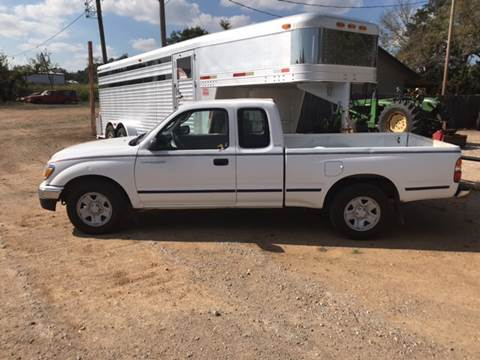 2003 Toyota Tacoma for sale at ALL STAR VEHICLE SALES LLC in Tishomingo OK