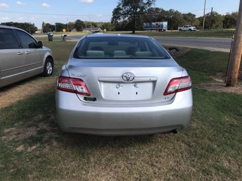 2011 Toyota Camry for sale at ALL STAR VEHICLE SALES LLC in Tishomingo OK