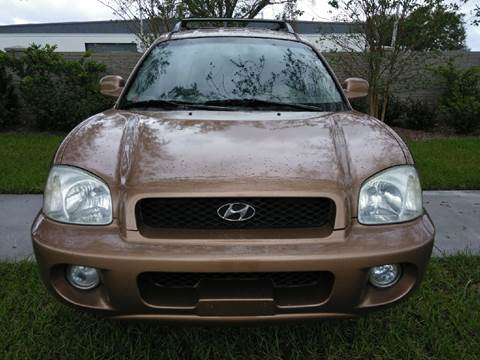 2002 Hyundai Santa Fe for sale in Longwood, FL