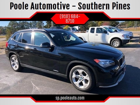 2015 BMW X1 for sale at Poole Automotive -Moore County in Aberdeen NC