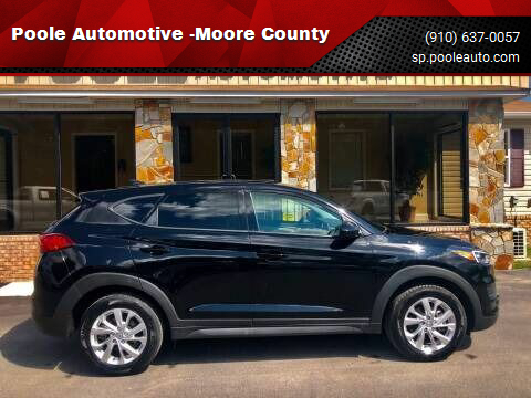 2019 Hyundai Tucson for sale at Poole Automotive -Moore County in Aberdeen NC