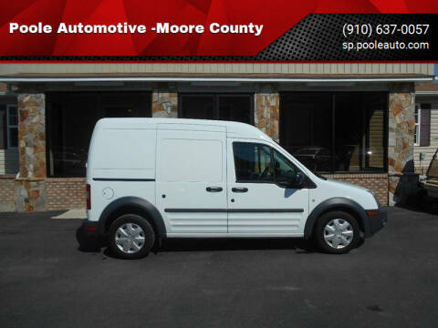 2012 Ford Transit Connect for sale at Poole Automotive -Moore County in Aberdeen NC