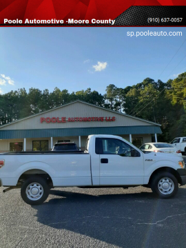2014 Ford F-150 for sale at Poole Automotive -Moore County in Aberdeen NC