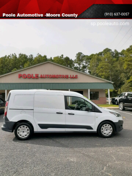 2015 Ford Transit Connect Cargo for sale at Poole Automotive -Moore County in Aberdeen NC