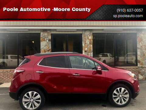 2017 Buick Encore for sale at Poole Automotive -Moore County in Aberdeen NC