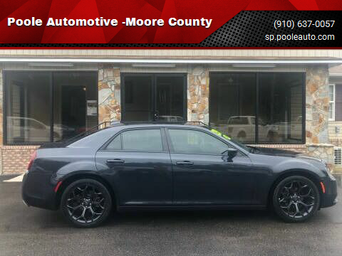 2019 Chrysler 300 for sale at Poole Automotive -Moore County in Aberdeen NC