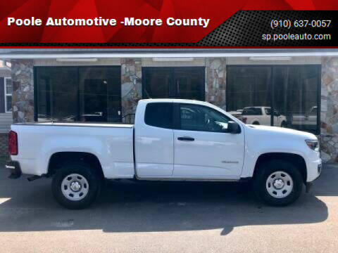 2015 Chevrolet Colorado for sale at Poole Automotive -Moore County in Aberdeen NC